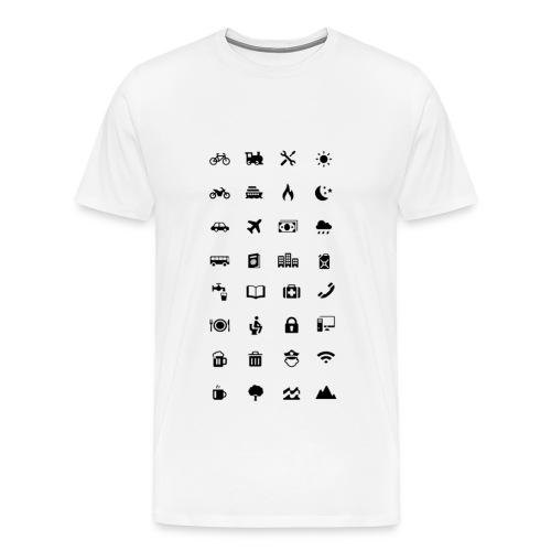 Information Emojis - Men's Premium T-Shirt