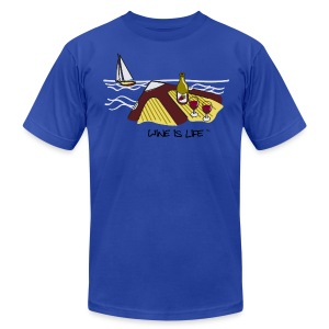 yacht - Men's T-Shirt by American Apparel