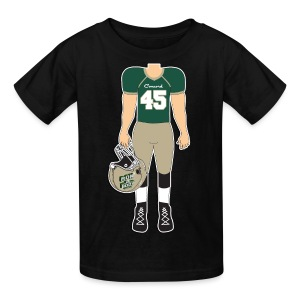 45 front and back - Kids' T-Shirt