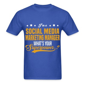 Social Media Manager - Men's T-Shirt