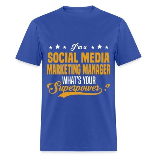 Social Media Manager - Men's T-Shirt
