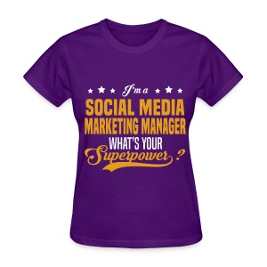 Social Media Manager - Women's T-Shirt