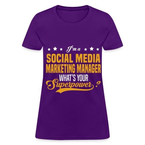 Social Media Manager - Women's T-Shirt