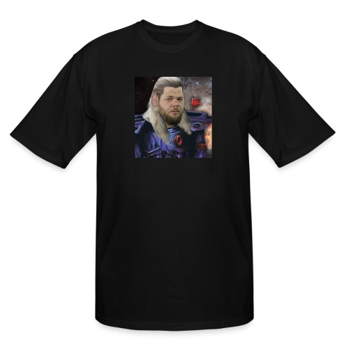 Steve Sized Steve Mullet T-Shirt - Men's Tall T-Shirt