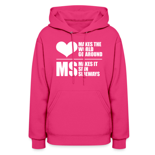MS Makes the World Spin - Women's Hoodie - Women's Hoodie