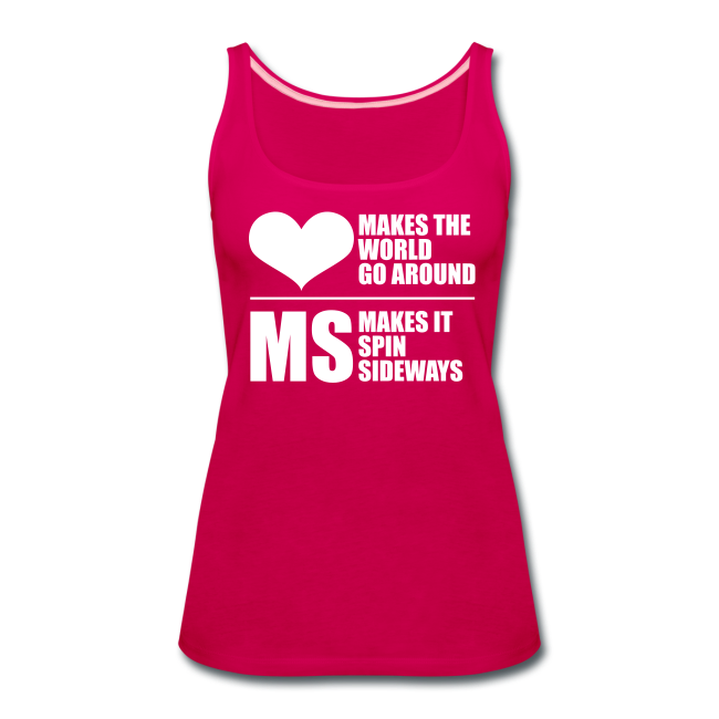 MS Makes the World Spin - Women's Tank Top
