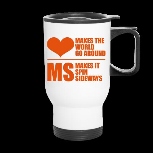 MS Makes the World Spin - Travel Muig - Travel Mug