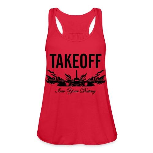 Takeoff Into Your Destiny - Women's Flowy Tank Top by Bella