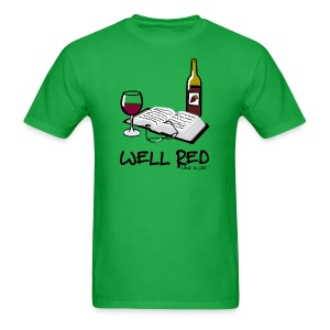 Wine is Life Well Red - Mens Standard Tee - Men's T-Shirt