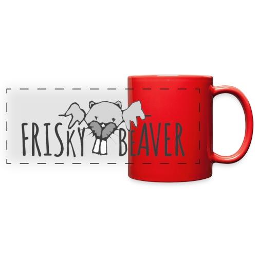 Frisky Beaver Pano Mug - Full Color Panoramic Mug