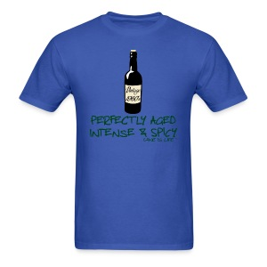 Wine is Life 60 Vintage - Mens Standard Tee - Men's T-Shirt