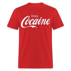 Enjoy COCAINE t-shirt - Men's T-Shirt