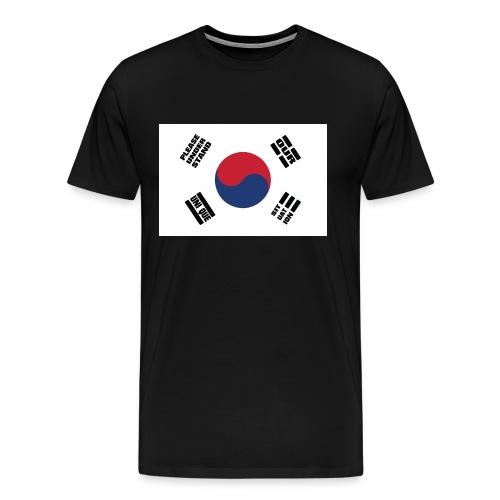 Korea's Unique Situation Shirt - Men's Premium T-Shirt