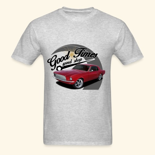 Good Times Garage Mustang - Men's T-Shirt