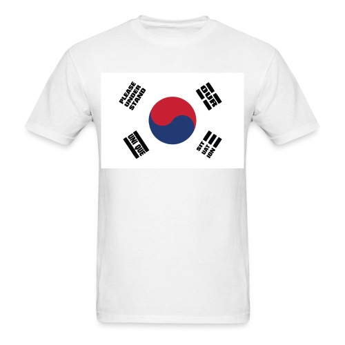 Korea's Unique Situation Shirt - Men's T-Shirt