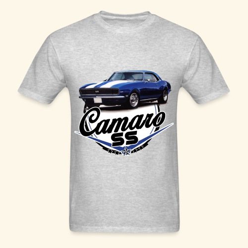 Blue Camaro SS Encompassed - Men's T-Shirt