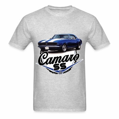 Blue Camaro SS Encompassed - Men's T-Shirt