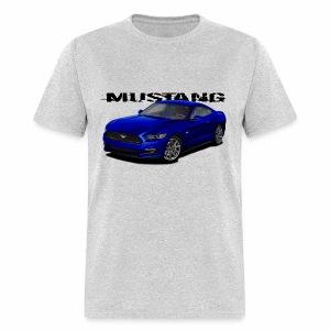 Kona Blue Mustang - Men's T-Shirt