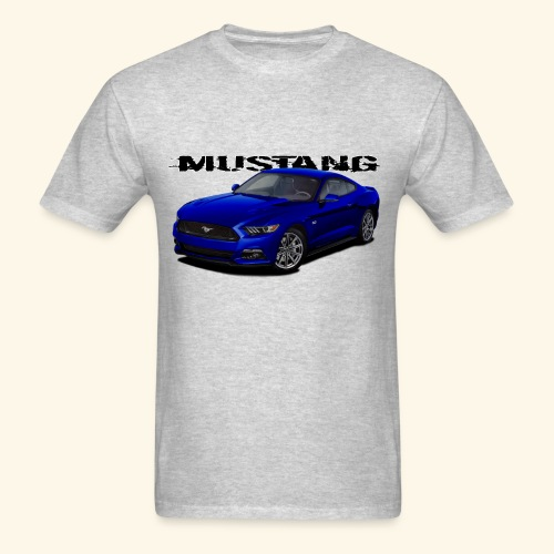 Kona Blue Mustang - Men's T-Shirt