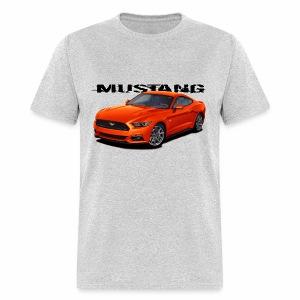 Competition Orange Mustang - Men's T-Shirt