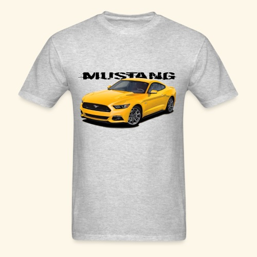Triple yellow Mustang - Men's T-Shirt