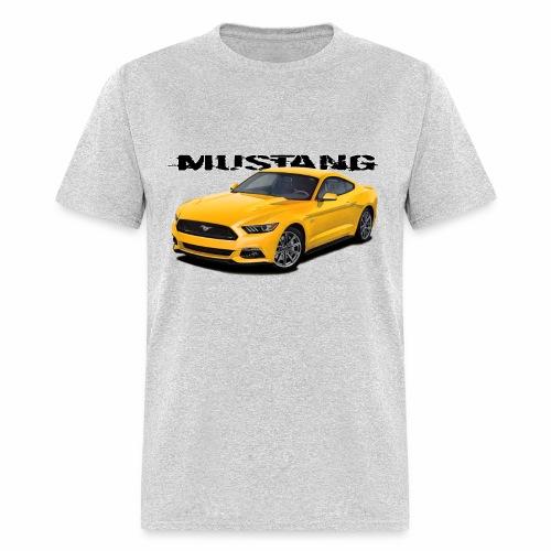 Triple yellow Mustang - Men's T-Shirt