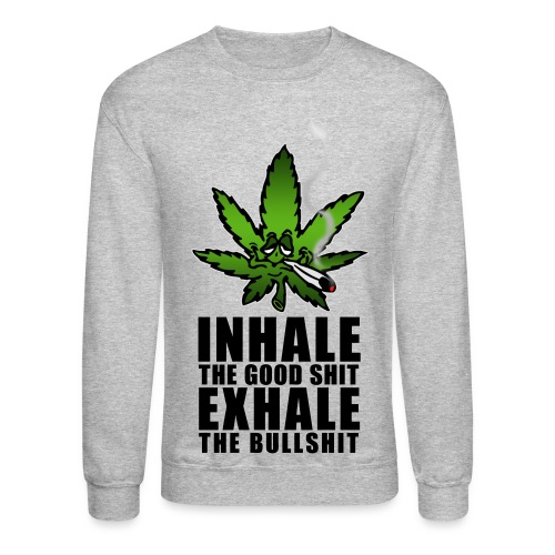 hemp sweat shirt - Crewneck Sweatshirt