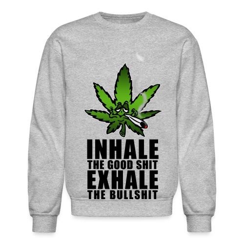 hemp sweat shirt - Crewneck Sweatshirt