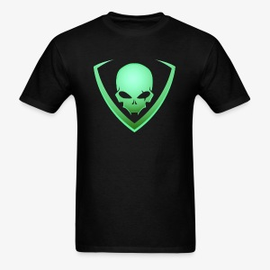 LusiD Skull Green (Men) - Men's T-Shirt