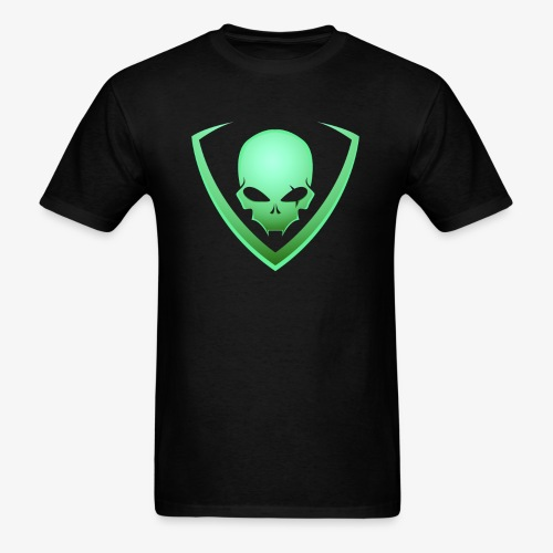 LusiD Skull Green (Men) - Men's T-Shirt