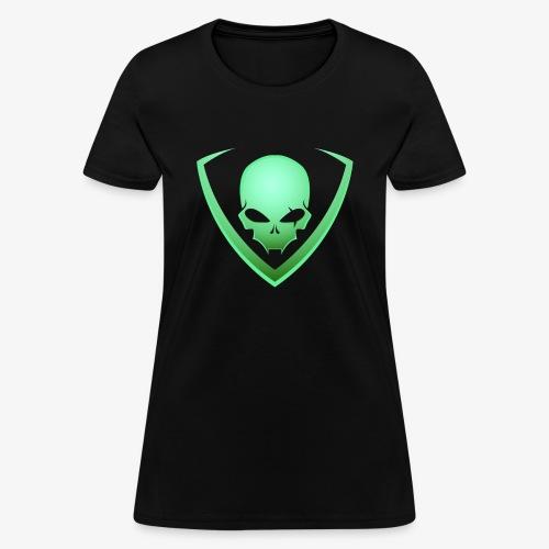 LusiD Skull Green (Women) - Women's T-Shirt