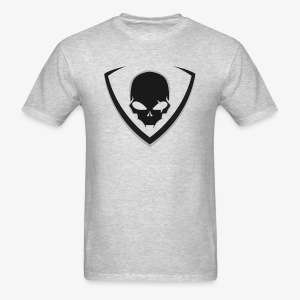 LusiD Skull Black (Men) - Men's T-Shirt