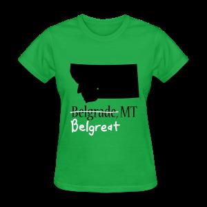 Belgreat Women Standard - Women's T-Shirt