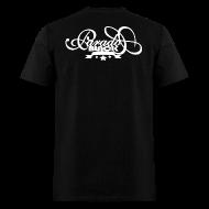 T-Shirts ~ Men's T-Shirt ~ DOX (BLACK) OFFICIAL LOGO T
