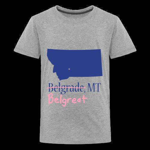 Belgreat Kids Gray - Kids' Premium T-Shirt