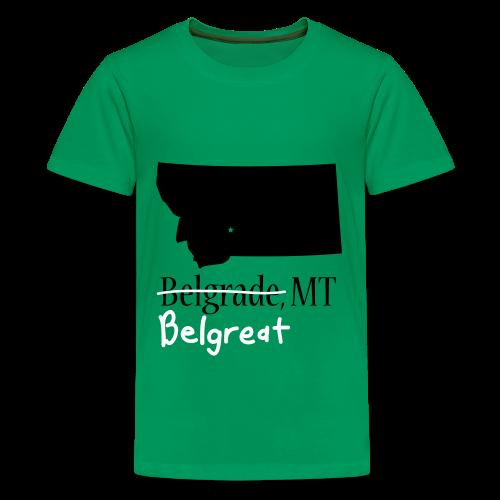 Belgreat Green Kids - Kids' Premium T-Shirt