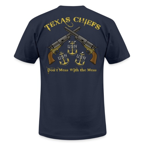 (Slim-Fit) Texas Chiefs Don't Mess With the Mess - Men's Fine Jersey T-Shirt