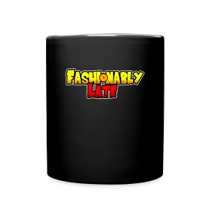 Fashionably Late Logo Mug (front) - Full Color Mug