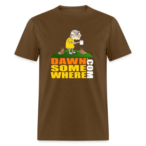 DawnSomewhere.com Shirt - Male - Men's T-Shirt