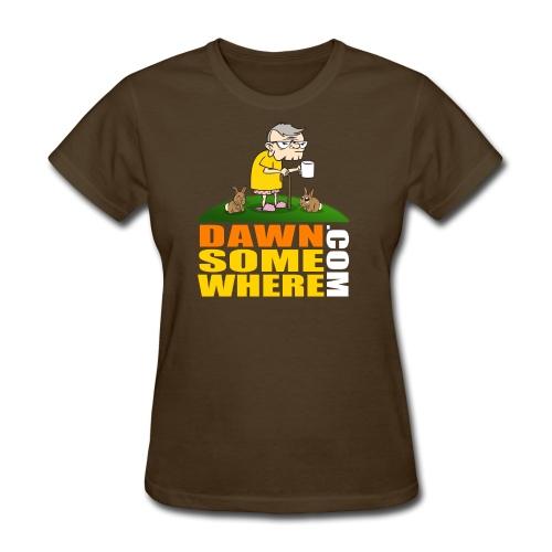 DawnSomewhere.com Shirt - Male - Women's T-Shirt