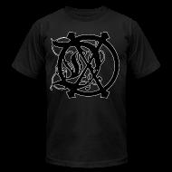 T-Shirts ~ Men's T-Shirt by American Apparel ~ DOX (3XL-BLACK) OFFICIAL LOGO T