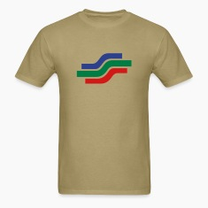 Stream - THREE COLOR VECTOR T-Shirts