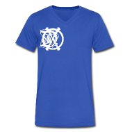 T-Shirts ~ Men's V-Neck T-Shirt by Canvas ~ DOX LOGO MEN'S V-NECK