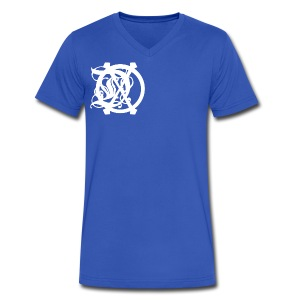DOX LOGO MEN'S V-NECK - Men's V-Neck T-Shirt by Canvas