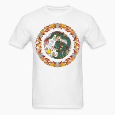Dragon Circle T-Shirts