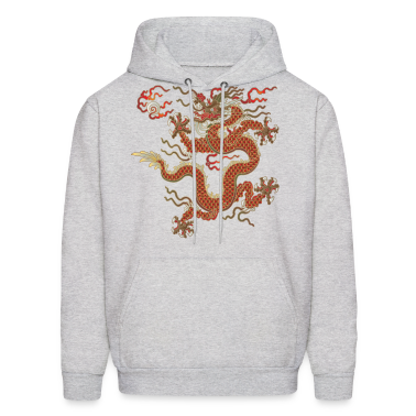 Oriental Dragon Hoodies