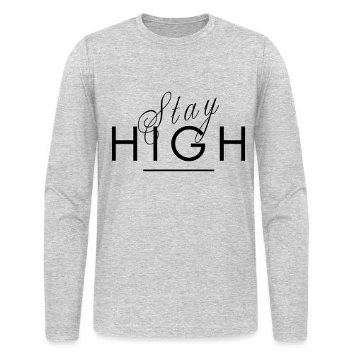 Stay High T-Shirt - Men's Long Sleeve T-Shirt by Next Level