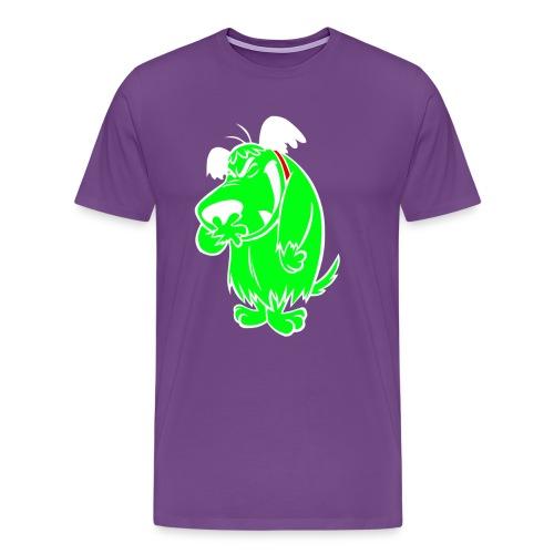 Sniggling White Outline Tee - Men's Premium T-Shirt