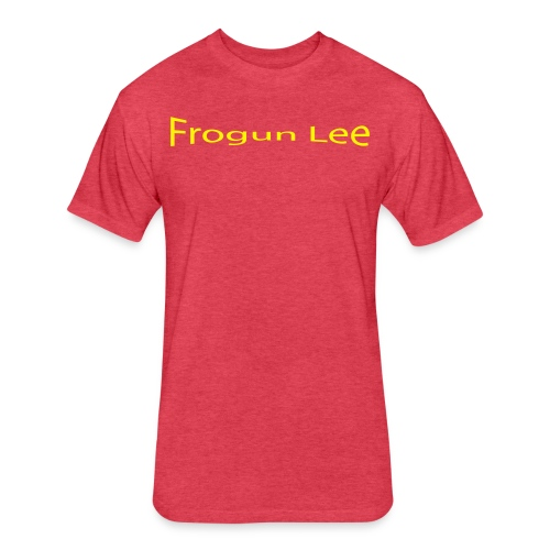 Frogun Lee OG - Fitted Cotton/Poly T-Shirt by Next Level