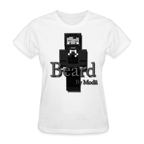 Women's Beard by Modii T-Shirt - Women's T-Shirt
